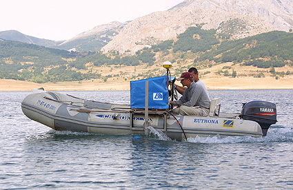 Hydroacoustic survey